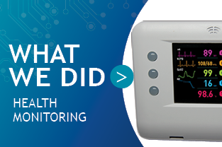 Health Monitoring Medical Device