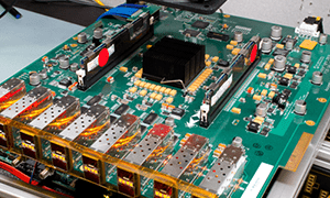 Network analyzer high speed fpga